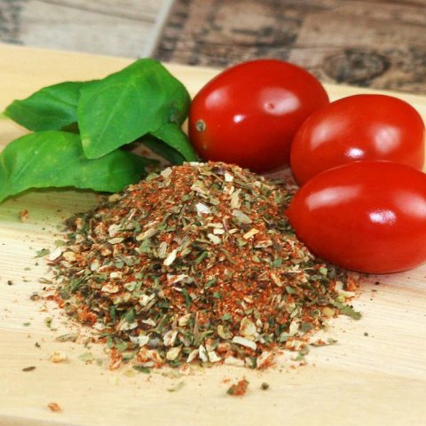 Tomate Mozarella Gewürz