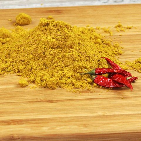 Ein Häufchen Curry Diana