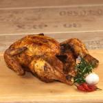 Ein Grill-Hähnchen