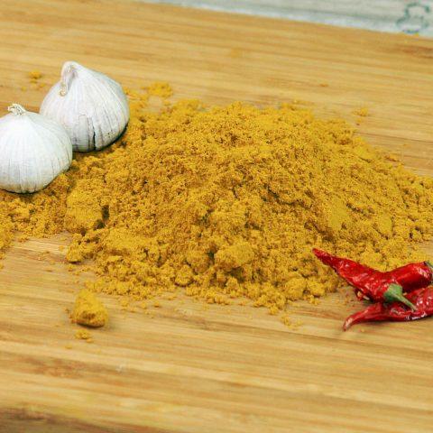 Ein Häufchen Curry Vindaloo