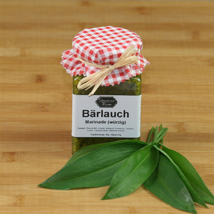 Bärlauch-Marinade