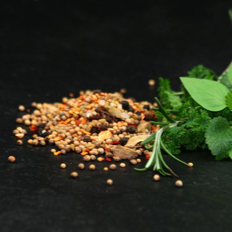Curry-grob